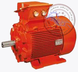 asynchronous electric motor multi pole three phase atex 004